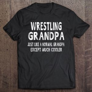 Wrestling grandpa father's day grandpa shirt