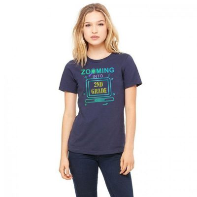 Zooming Into 2nd Grade Virtual Back to School second grade Classic T-Shirt