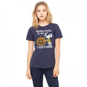 Snoopy Being Cool Is Costume Tee Shirts